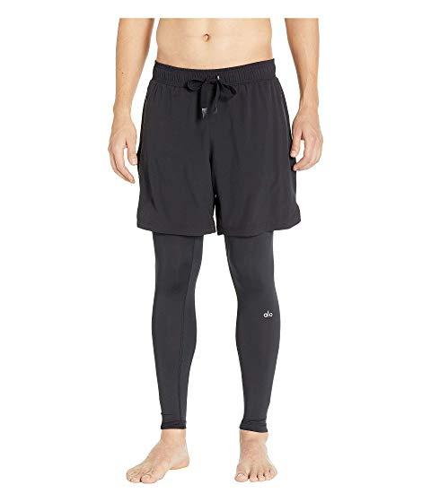 アロー ALO 【 STABILITY 2IN1 TIGHTS BLACK 】 メンズファッション ズボン パンツ 送料無料
