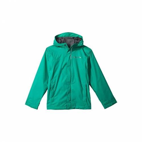 コロンビアキッズ COLUMBIA KIDS 緑 グリーン WATERTIGHT・・ 【 GREEN COLUMBIA KIDS JACKET LITTLE BIG EMERALD 】 キッズ ベビー マタニティ コート