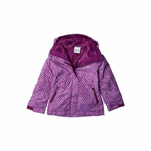 コロンビアキッズ COLUMBIA KIDS フリース BUGABOO・・ 【 COLUMBIA KIDS II FLEECE INTERCHANGE JACKET LITTLE BIG PLUM CHEVRON PRINT 】 キッズ ベビー マタニティ コート