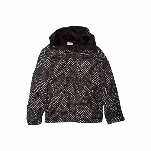 コロンビアキッズ COLUMBIA KIDS フリース 黒 ブラック BUGABOO・・ 【 BLACK COLUMBIA KIDS II FLEECE INTERCHANGE JACKET LITTLE BIG CHEVRON PRINT 】 キッズ ベビー マタニティ コート