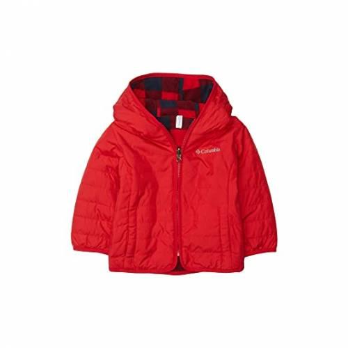 コロンビアキッズ COLUMBIA KIDS 赤 レッド TROUBLE・・ 【 RED COLUMBIA KIDS DOUBLE JACKET TODDLER MOUNTAIN 】 キッズ ベビー マタニティ コート