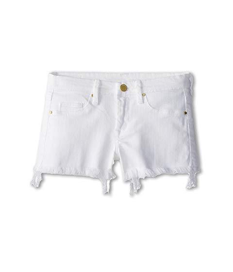 ブランクニューヨークシティーキッズ BLANK NYC KIDS ショーツ ハーフパンツ 白 ホワイト キッズ ベビー マタニティ ボトムス ジュニア 【 Cut Off Shorts In White Lines (big Kids) 】 White Lines