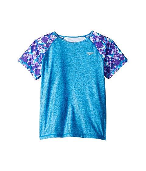 【海外限定】ショーツ ハーフパンツ スリーブ Tシャツ トップス 【 SLEEVE PRINTED SHORT RASHGUARD LITTLE KIDS BIG 】
