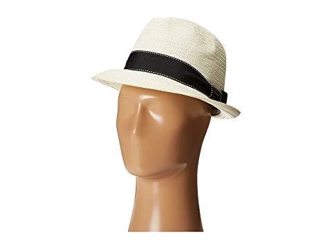 【海外限定】帽子 バッグ 【 5 BU TOYO FEDORA WITH STRIPED RIBBON BAND 】