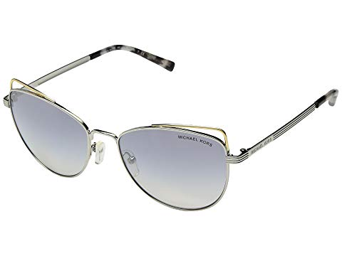 MICHAEL KORS 銀色 シルバー ST. 【 SILVER MICHAEL KORS LUCIA 0MK1035 55MM CLOUD FLASH 】 バッグ  眼鏡