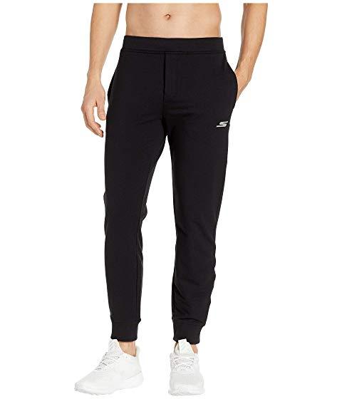 SKECHERS スケッチャーズ ジョガーパンツ 黒 ブラック 【 BLACK SKECHERS TRAVEL BUG JOGGER 】 メンズファッション ズボン パンツ