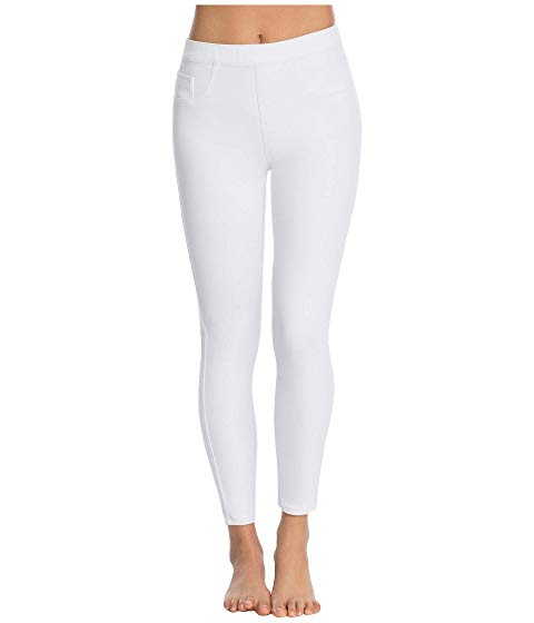 SPANX レギンス タイツ 白 ホワイト 【 WHITE SPANX JEANISH ANKLE LEGGINGS 】 レディースファッション ボトムス パンツ