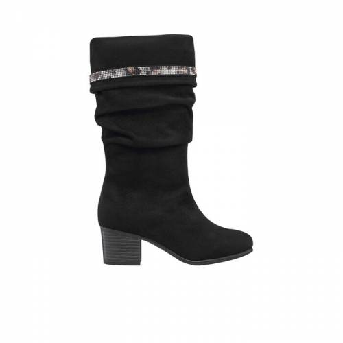 ファッションブランド カジュアル ファッション スニーカー ジェシカシンプソン パーカー ハイ ブーツ 黒色 ブラック GIRLS'  ジュニア キッズ 【 JESSICA SIMPSON LITTLE KID BIG PARKER CUFF KNEE HIGH BOOTS BLACK 】