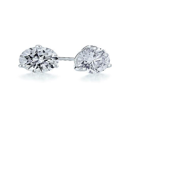 【海外限定】ダイヤモンド プラチナム 1.25CT & アクセサリー ジュエリー 【 PLATINUM TW DIAMOND STUD EARRINGS 】