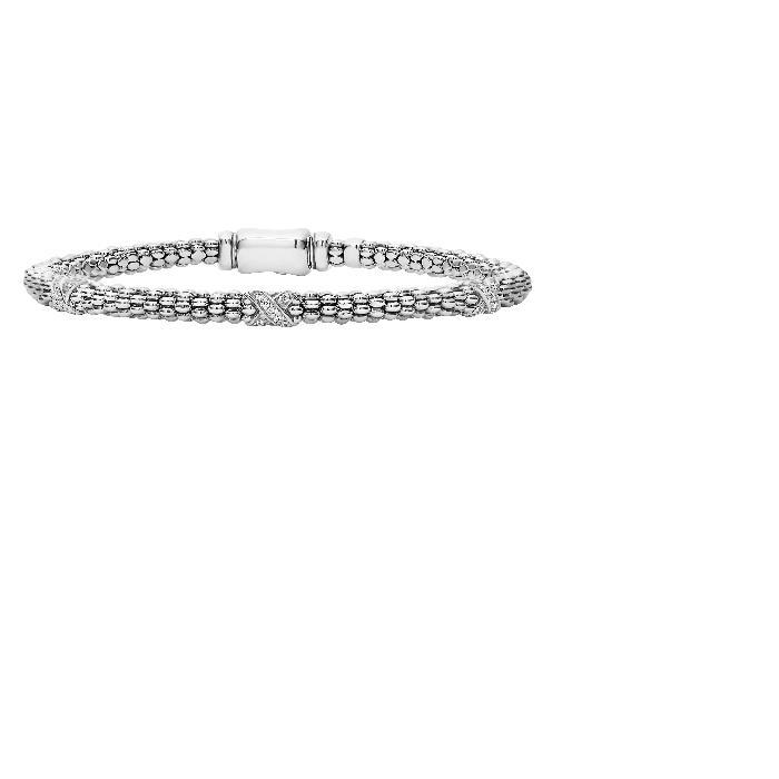 【海外限定】ダイヤモンド ブレスレット 'SIGNATURE CAVIAR' アクセサリー ジュエリー 【 DIAMOND ROPE BRACELET 】
