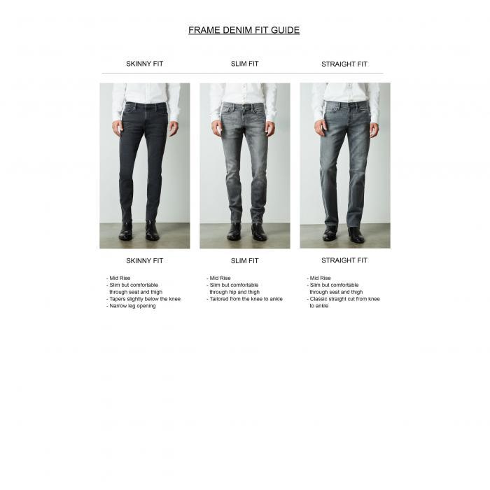FRAME L'HOMME 【 SKINNY FIT JEANS EDISON 】 メンズファッション ズボン パンツ 送料無料
