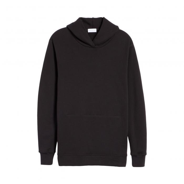 JOHN ELLIOTT 【 HOODED VILLAIN SWEATSHIRT BLACK 】 メンズファッション トップス パーカー 送料無料