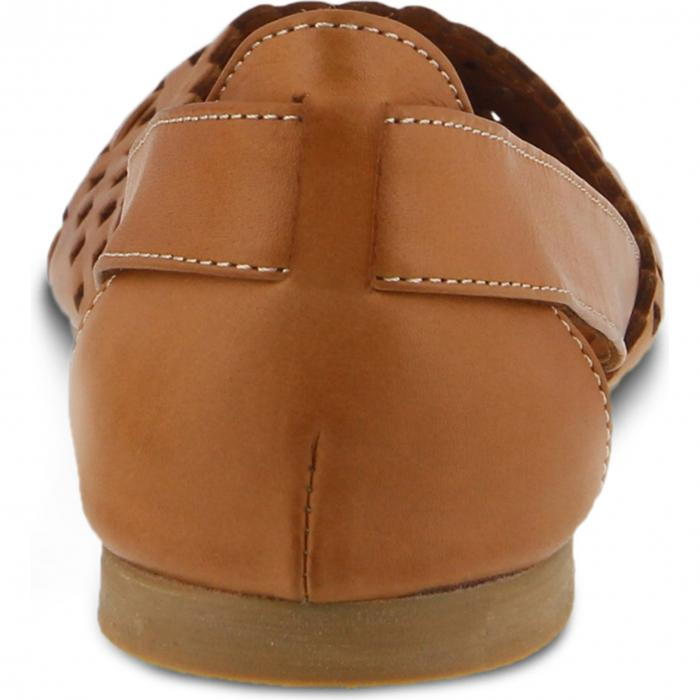 SPRING STEP 【 DELORSE FLAT CAMEL LEATHER 】 送料無料