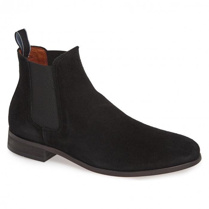 SHOE THE BEAR 【 DEV CHELSEA BOOT BLACK SUEDE 】 メンズ ブーツ 送料無料