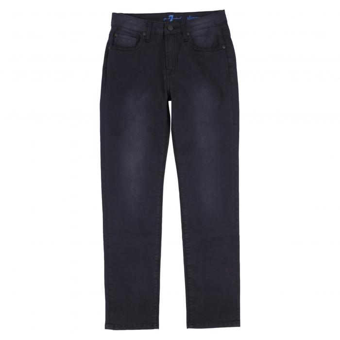 7 FOR ALL MANKIND?< SUP> 【 SLIMMY JEANS BLACK OUT 】 キッズ ベビー マタニティ ボトムス 送料無料