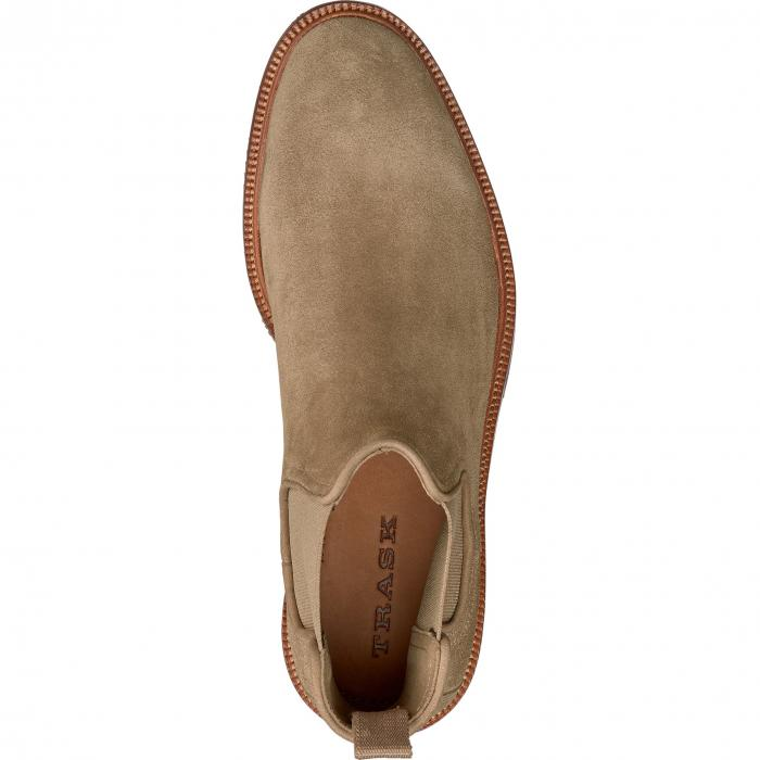 【NeaYearSALE1/1-1/5】TRASK 【 LEO CHELSEA BOOT TAUPE SUEDE 】 メンズ ブーツ 送料無料