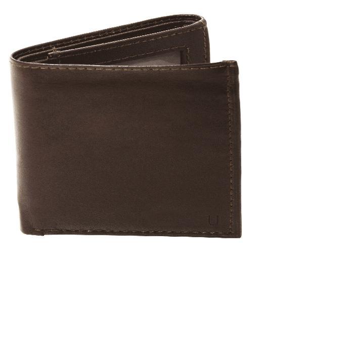 【海外限定】レザー ウォレット 財布 'OXFORD' バッグ メンズ財布 【 WALLET MONOGRAM LEATHER TRIFOLD 】