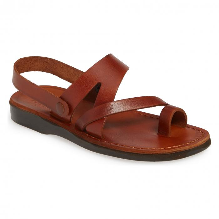 JERUSALEM SANDALS 【 BENJAMIN SANDAL HONEY LEATHER 】 送料無料