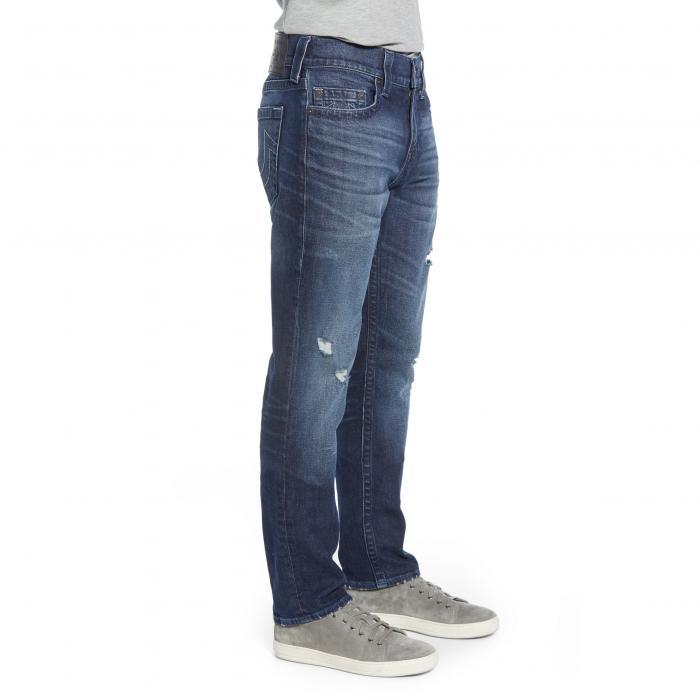 TRUE RELIGION BRAND JEANS 【 GENO STRAIGHT LEG WORN SANTIAGO 】 メンズファッション ズボン パンツ 送料無料