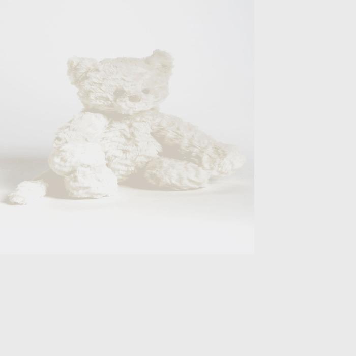 ファッションブランド JELLYCAT 【 FUDDLEWUDDLE KITTY STUFFED ANIMAL WHITE 】 おもちゃ ゲーム 送料無料