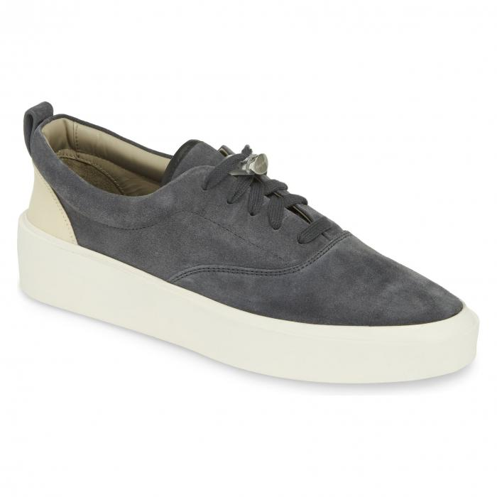 FEAR OF GOD スニーカー メンズ 【 101 Low Top Sneaker 】 Black Suede W/ Cream Leather