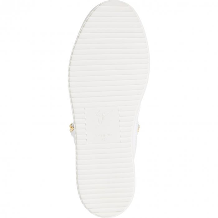 GIUSEPPE ZANOTTI ミッド スニーカー メンズ 【 Mid Top Sneaker 】 White