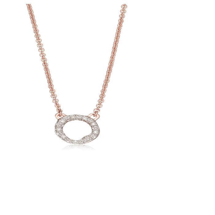 【海外限定】ダイヤモンド ネックレス ジュエリー 【 RIVA DIAMOND CIRCLE PENDANT NECKLACE 】