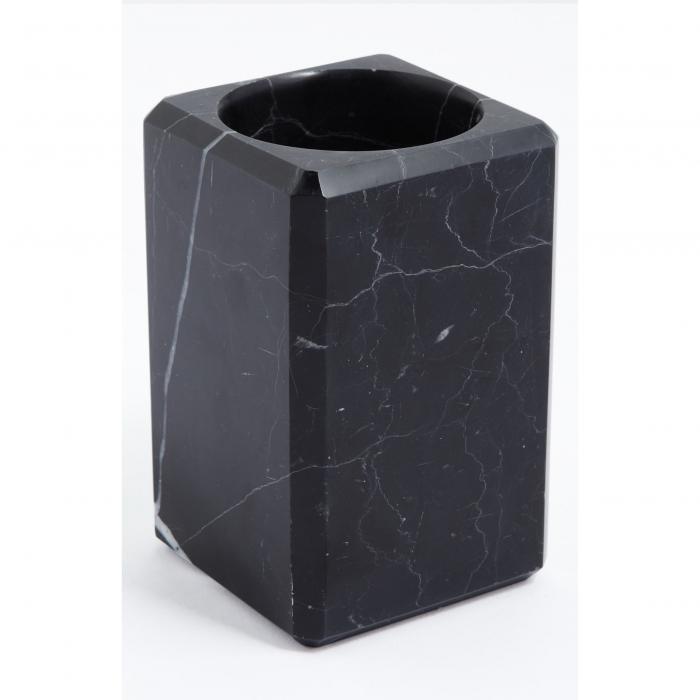 【海外限定】黒 ブラック 'LUNA' キッチン用品 【 BLACK MARBLE TUMBLER 】