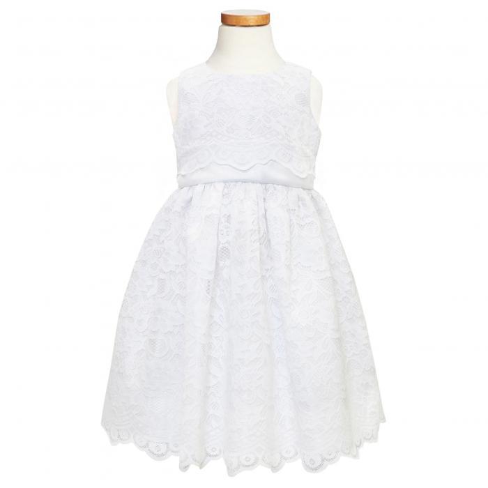 【海外限定】ドレス ベビー マタニティ 【 SCALLOP LACE DRESS 】【送料無料】