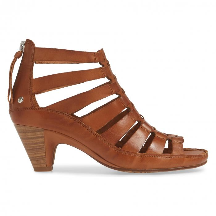 PIKOLINOS 【 JAVA GLADIATOR SANDAL BRANDY LEATHER 】 送料無料