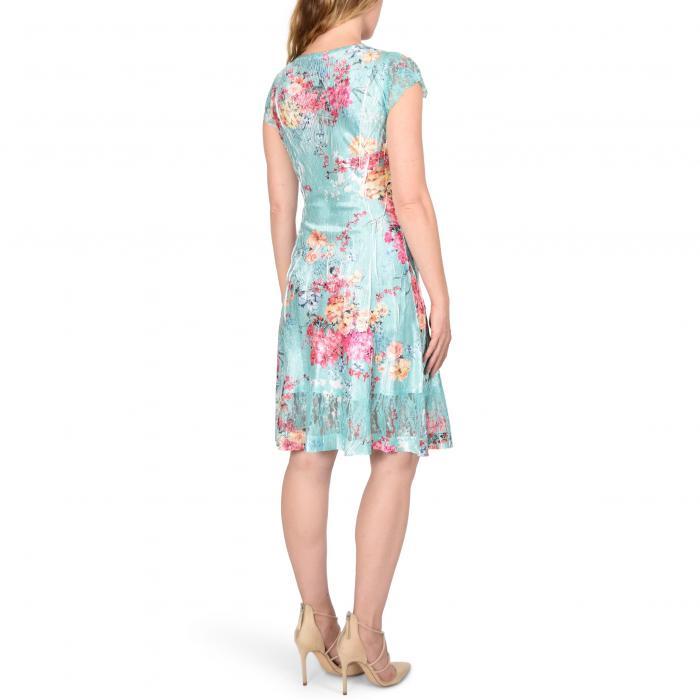 KOMAROV 【 FLORAL CRINKLE DRESS BRIGHT BOUQUET 】 レディースファッション ドレス 送料無料