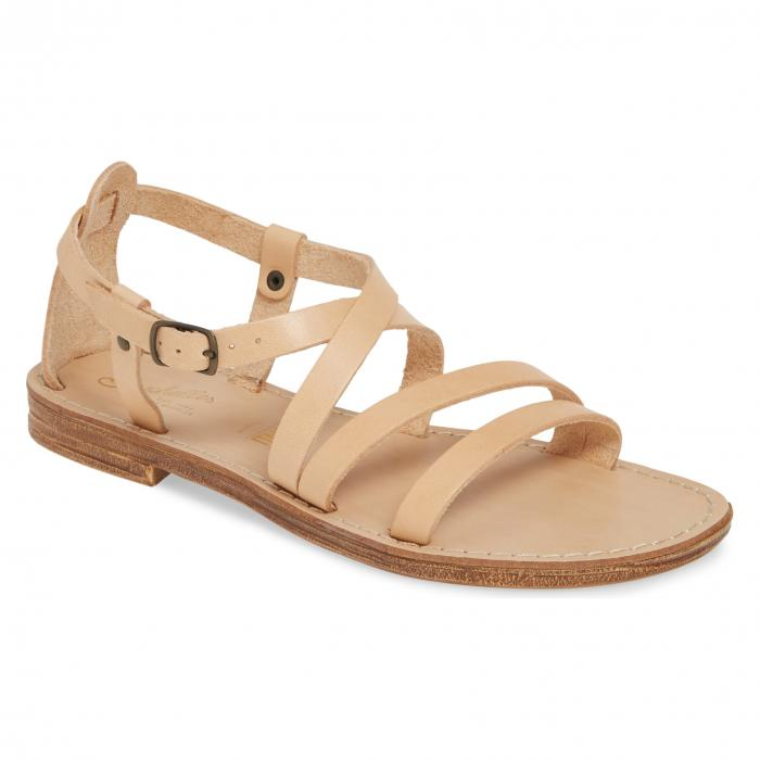 SEYCHELLES 【 UPCYCLE STRAPPY SANDAL BEIGE LEATHER 】 送料無料