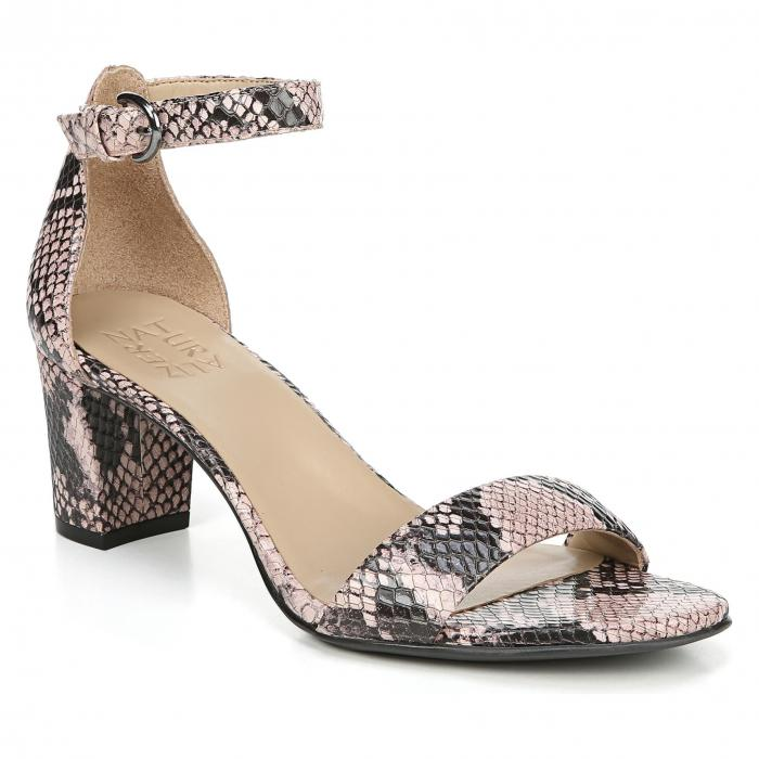 NATURALIZER ストラップ ローズ 【 ROSE VERA ANKLE STRAP SANDAL DUSTY SNAKE PRINT LEATHER 】 送料無料