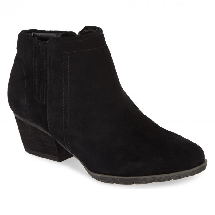 ブロンド BLONDO 2.0 レディース 【 Valli 2.0 Waterproof Bootie 】 Black Suede