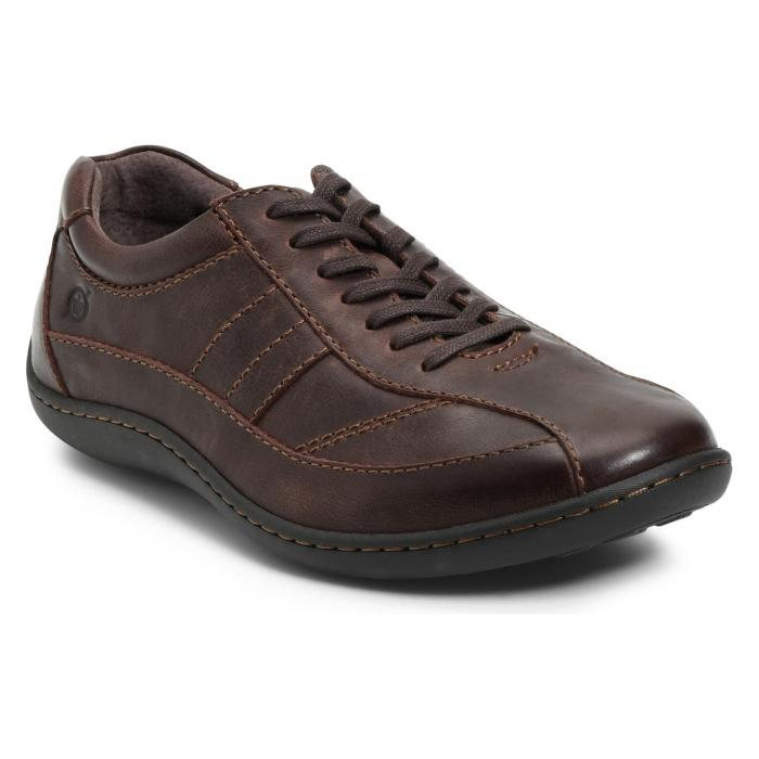 B・・RN スニーカー 【 BREVES LOW TOP SNEAKER BROWN 】 メンズ 送料無料