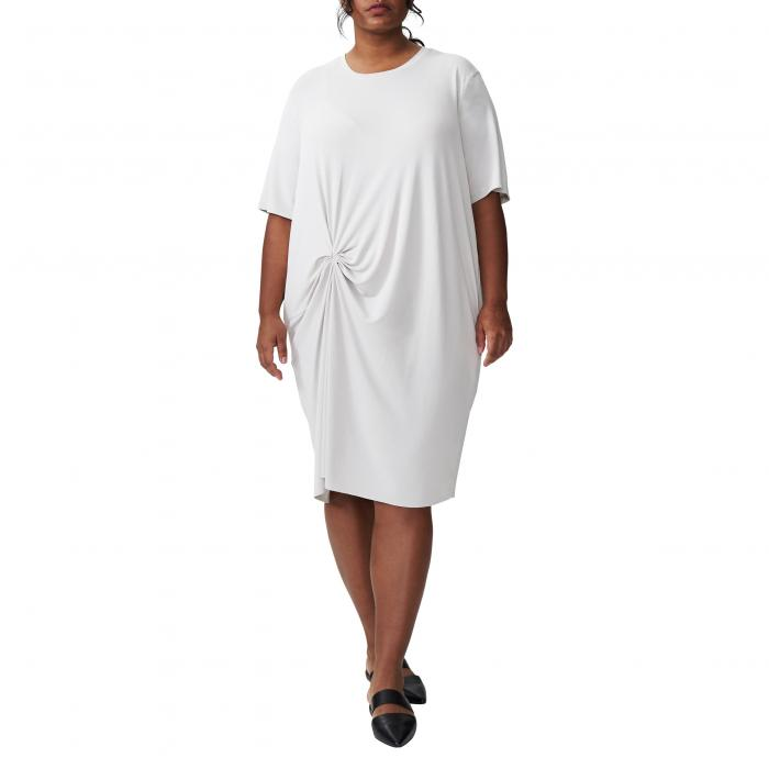 UNIVERSAL STANDARD Tシャツ 【 MONICA KNOT TSHIRT DRESS GLACIER GREY 】 レディースファッション ドレス 送料無料