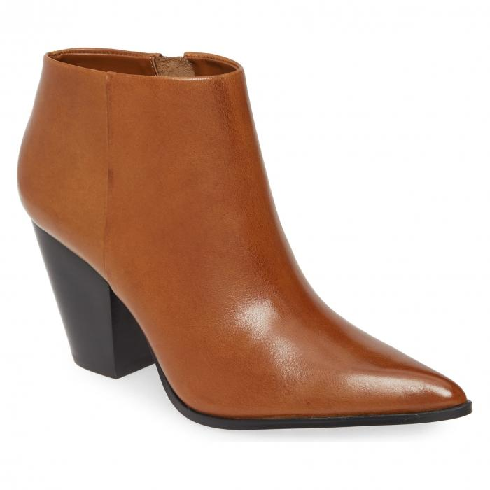 カルバンクライン CALVIN KLEIN レディース 【 Ignazia Siriana Bootie 】 Russet Faux Leather