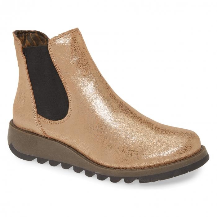 FLY LONDON 'SALV' 【 CHELSEA BOOT LUNA LEATHER 】 送料無料