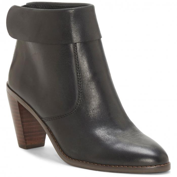 LUCKY BRAND レザー レディース 【 Nycott Leather Bootie 】 Black Leather