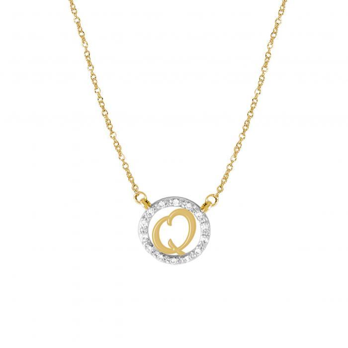 【海外限定】ダイヤモンド ネックレス PAV・・ ジュエリー 【 JANE BASCH DESIGNS DIAMOND INITIAL PENDANT NECKLACE 】【送料無料】