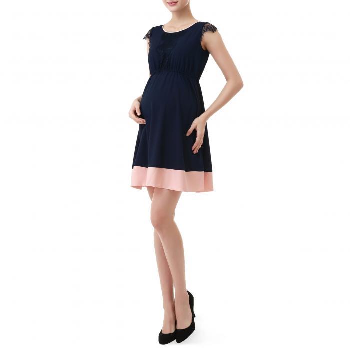 【海外限定】ドレス & ワンピース キッズ 【 KIMI AND KAI NELL FIT FLARE MATERNITY DRESS 】【送料無料】
