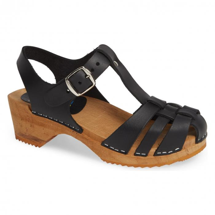 MIA 【 EMILY SANDAL BLACK LEATHER 】 送料無料