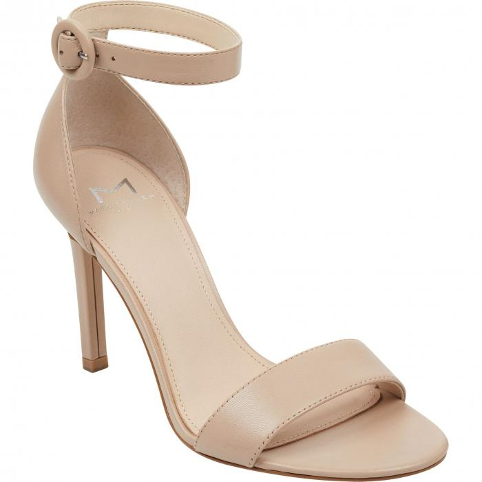 MARC FISHER LTD ストラップ 【 KORA ANKLE STRAP SANDAL TAN LEATHER 】 送料無料