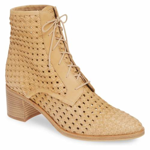FREDA SALVADOR エース ウーブン 【 WOVEN ACE BOOTIE NUDE LEATHER 】 送料無料