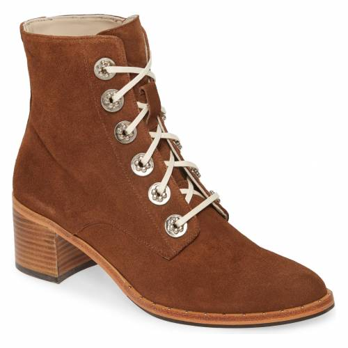 FREDA SALVADOR エース スエード スウェード 【 ACE BOOTIE BROWN SUEDE W HARDWARE 】 送料無料