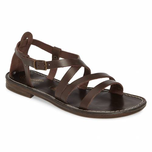 SEYCHELLES 【 UPCYCLE STRAPPY SANDAL BROWN LEATHER 】 送料無料