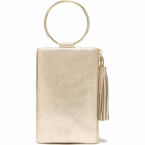 THACKER レザー NOLITA RING 人気ブランド多数対象 HANDLE LEATHER 送料無料 レディースバッグ GOLD VINTAGE CLUTCH 人気急上昇 バッグ