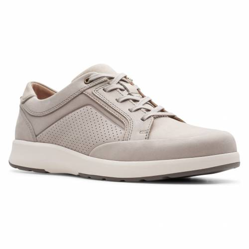 CLARKS?< SUP> スニーカー 【 UN TRAIL FORM SNEAKER STONE NUBUCK 】 メンズ 送料無料