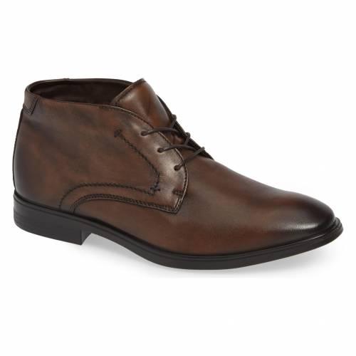 エコー ECCO チャッカ ブーツ メンズ 【 Melbourne Chukka Boot 】 Brown Leather