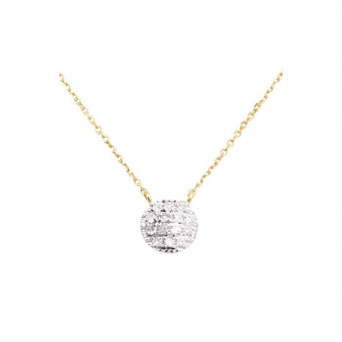 DANA REBECCA DESIGNS ダイヤモンド 'LAUREN JOY' 【 DIAMOND DISC PENDANT NECKLACE YELLOW GOLD 】 ジュエリー アクセサリー レディースジュエリー ネックレス 送料無料